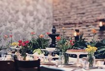 Table Design / For that special evening or just for fun: A beautiful table will make everyone smile  Love goes through the stomach 