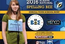Scripps Green Country Regional Spelling Bee / The second annual Scripps Green Country Regional Spelling Bee will be held March 5, 2016 at the Mabee Center. / by KJRH 2 Works for You