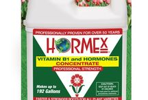 Hormex Liquid Concentrate / Accelerate Rooting and overall plant growth of all plant varieties. Stops transplant shock, strengthens roots and improves foliage.