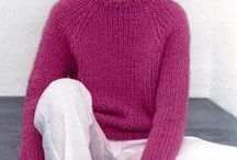 Sweaters and cardigans / Knitting and crocheting patterns