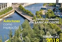 Revista Tudo Sobre Jardins / Pins da revista Tudo Sobre Jardins e temas que foram apresentados na revista edição digital e impressa. www.tudosobrejardins.com