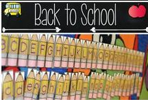 BACK TO SCHOOL IDEAS / Are you looking for some fun and effective back to school ideas? From first day ice breakers to fun student activities  I am pinning some of my favorite beginning of the year resources to help you make the most of your first days.