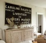 Design: Ekster Antiques Owner's Home / Owned by Caroline Verschoor and Jon-Paul Saunier in Hamilton, VA.  Pure. Natural. Recycled. Reclaimed. Those elements - combined with the Scandinavian aesthetic - define her style.  Wow!  She also has a collection of Scandinavian design images on a Pinterest board at http://pinterest.com/eksterantiques/