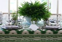 Table Settings / From casual to formal a table setting to suit any occasion.