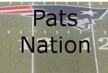 Pats Nation / The New England Patriots are a professional American football team based in the Greater Boston area. The Patriots play their home games at Gillette Stadium in the town of Foxborough, Massachusetts. The Patriots are also headquartered at Gillette Stadium. The team is part of the East division of the American Football Conference (AFC) in the National Football League (NFL).