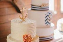 Cake: Beachy + Nautical