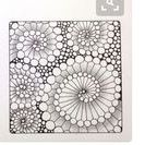 Zentangle / Art & doodling. I discovered this last year and love, love, love it.