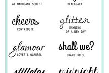 Fonts / by Callie Foreman