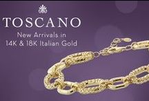Toscano Collection / Toscano: The finest craftsmanship in rich, Italian gold. Exclusively at Ben Bridge. / by Ben Bridge Jeweler