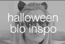 Halloween Blo Inspo / Will you be the cutest pumpkin in the patch or scaring your friends stiff? Here's some inspo to get a full Halloween makeover at Blo!