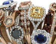 Color You Beautiful / Our colored gemstone rings will spruce up your style and add some depth to your wardrobe.