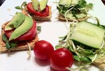 Raw Food Recipes- Savory. / by Superfood Snacks