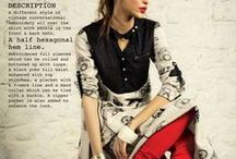 Apparels / A collection of stylized women's clothing and footwear. / by Rajrang