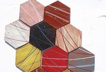 Mosaic Tiles / Mosaic of different scale and materials