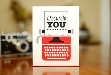 Project Thank You Board / Grab a card from this collection and tell someone you love Thank You!