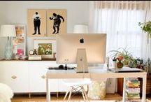 ● Home Office ● Oficina en Casa ● / by Ivonne Anzola