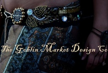 The Goblin Market Design Co~ / Curious and unusual attire for belly dancers and other magical beings~ my creations: bras, belts, head pieces and adornments. // facebook.com/thegoblinmarketdesignco