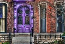 Front Door / Doors of all kinds, colorful, different, classic, modern / by Mariana Diaz
