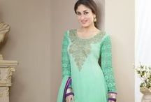 Salwar Kameez / Indian salwar Kameez are one of the most gorgeous traditional outfits that represent feminine gestures gracefully / by Rajrang