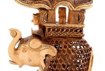 Handicraft /  Decorative domestic or other objects crafted by hand / by Rajrang