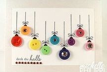 Merry Christmas! / Happy Holidays! Great ideas for Christmas decorations, cards, inspiration / by Mariana Diaz