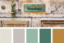 colour charts / A collection of color schemes and themes