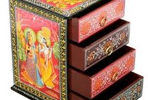 Magic of Mini Cabinets / Color-block your cottage with these creative wooden #cabinets / by Rajrang
