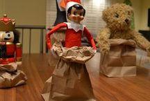 Elf on the Shelf / Christmas fun with Elf on the Shelf