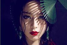 Gorgeous Asian Makeup / Asian beauty and bridal makeup ideas