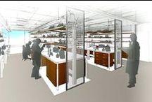 Laboratory Interior Design / Laboratory and High Tech Interior Design