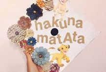 Graduation Cap Ideas / Go out with a bang! These DIY graduation cap ideas will set you apart from the crowd of others in your class and will go ten steps beyond!