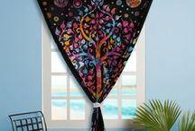 Mandala Tapestry Curtains / by Rajrang