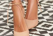 Nude Shoes / There is no better way to accent your Alyce Paris dress than with a subtle, but sophisticated, nude pump or sandal.