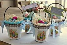 EASTER HUNT / by Laurie @ Bargain Decorating