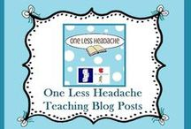 One Less Headache Educational Blog / Educational tips, freebies & more! / by Lesson Lady