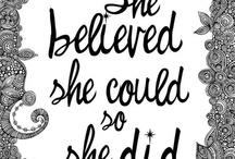 Motivation/Inspiration / by Jane Sohn Bearden