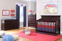 Legendary / A true heirloom collection, the Legendary collection is a quality nursery collection that can be enjoyed for many years. Legendary offers 6 different crib styles to choose from. A wide variety including versions with our Safety-Gate, and Solid Back Panel designs. All will convert crib into a toddler bed and later into a full-size adult bed. Coordinating pieces are value packed, offering dovetail drawer construction, over sized dimensions, and metal drawer glides.  / by Baby's Dream Furniture