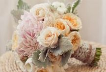 .. Soft Colored Bouquets .. / Soft-toned bouquets of pastels.  / by Botanica Events