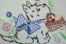 Embroidery / by Carol Parsons - Crafters Corner Cafe'