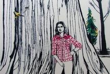 ART * siLvana meLLo / ART  Intuitive EMBROIDERIES  Paints  FEMINIST  Punk  VEGAN