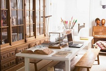 Home Offices / Great Ideas for home offices and how to organize them.