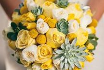 .. Yellow Florals .. / Yellow wedding flowers.   / by Botanica Events