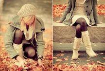 fall fashion / fall fashion at it's finest, big sweaters, fluffy scarves, and boots.