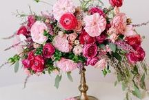 .. Pink Florals .. / Pink wedding flowers.   / by Botanica Events