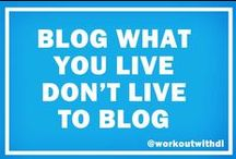Blogging and Social Media / Tips and Tricks for blogging and social media!