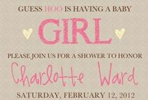 Baby Announcement/Shower & Gender Reveal / by Kylie Wallach