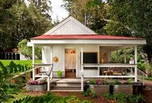 Tiny Houses / Tiny homes, small spaces, cozy living.