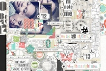 Digi Scrapbooking Kits I ♥  / a little collection of digi kits I love and need (or already have) / by Mary Rogers