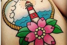 TATTOS / by DlittleCompany _Surf Town
