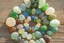 ~The Sea Glass~ / My favorite place is the beach. I love sea shells.